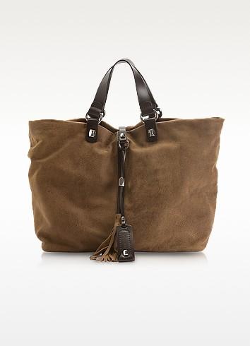 Helena - Large Leather Tote - Francesco Biasia