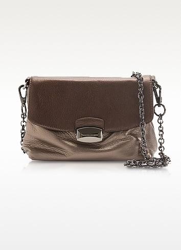 Janice - Metallic Leather Clutch/Shoulder Bag - Francesco Biasia