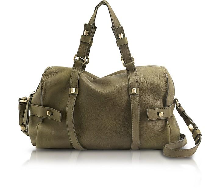 Linda - Medium Leather Satchel - Francesco Biasia