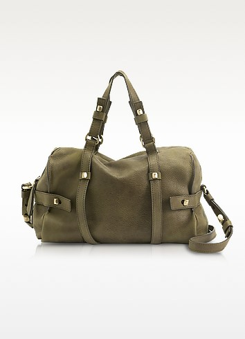 Linda - Medium Leather Satchel - Francesco Biasia