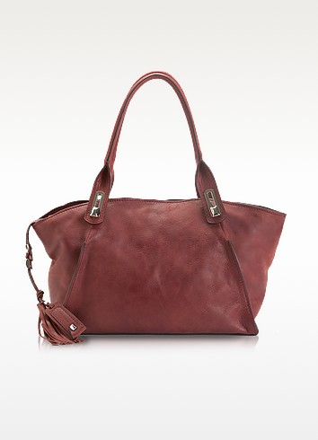 Naomi - Large Leather Tote - Francesco Biasia