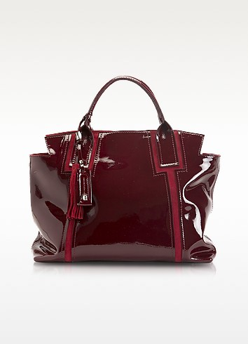 Valeria - Large Leather Tote - Francesco Biasia