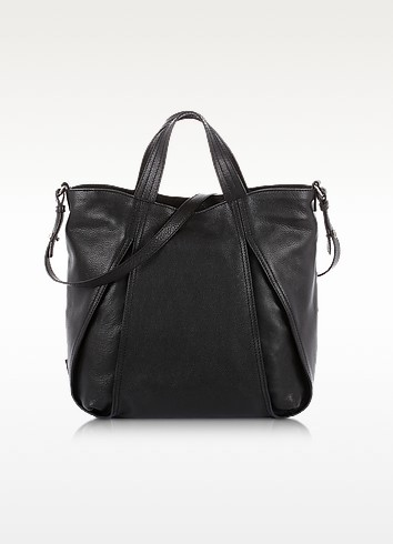 Copacabana - Genuine Leather Tote w/ Shoulder Strap - Francesco Biasia