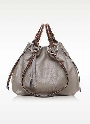 Angie Leather Bucket Bag - Francesco Biasia