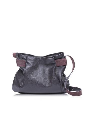 Corine Leather Shoulder Bag