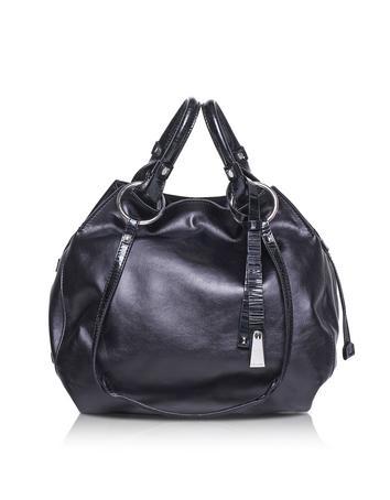 Angie Calf Leather Bucket Bag
