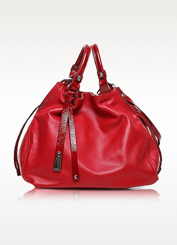 Angie Calf Leather Bucket Bag - Francesco Biasia