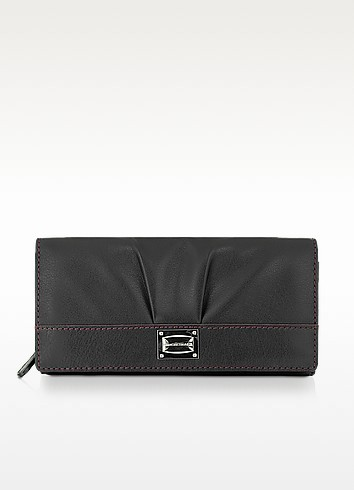 Cindy - Flap Leather Wallet - Francesco Biasia