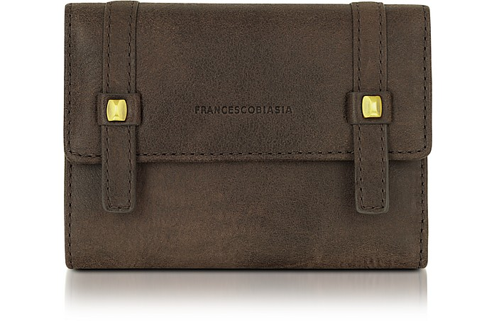 Linda - Genuine Leather French Purse - Francesco Biasia