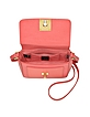 Bag Bugs Coral Red Leather Shoulder Bag - Fendi