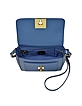 Bag Bugs Blue Leather Shoulder Bag - Fendi