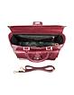Classico No. 3 Red Leather Satchel - Fendi