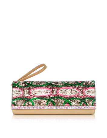 Rush Leather Clutch