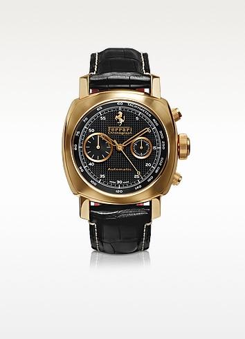 Panerai Granturismo - Men's Rose Gold Automatic Chronograph Watch - Ferrari