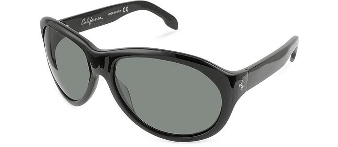 FR64 - California Prancing Horse Oval Sunglasses - Ferrari