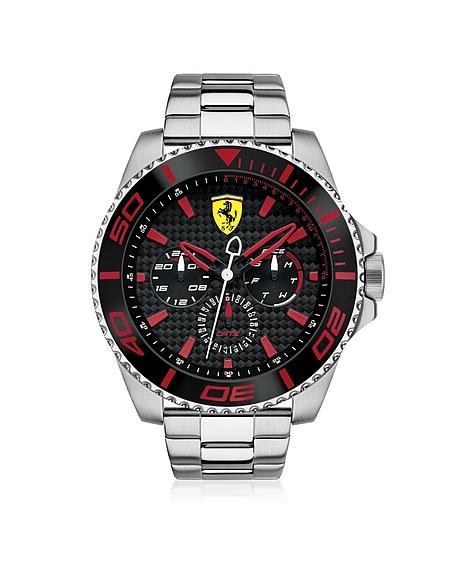 Foto Ferrari XX Kers Orologio in Acciaio Silver con Quadrante Nero/Rosso Orologi Uomo