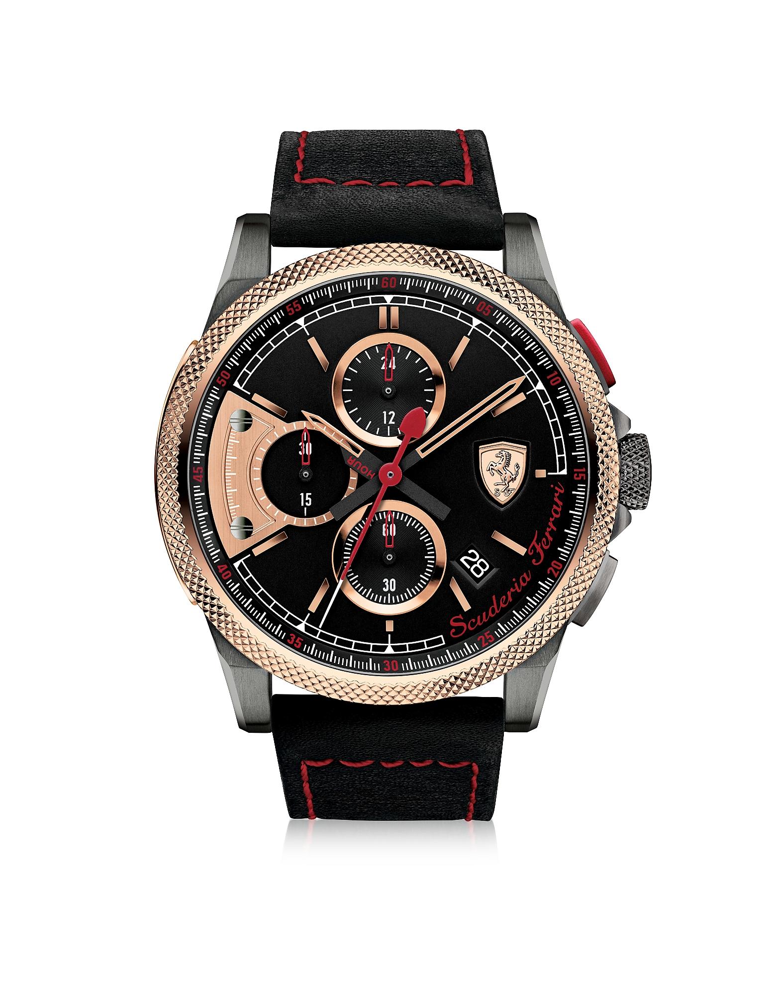 Ferrari Men's Watches, Formula Italia S Stainless Steel Men's Chrono Watch