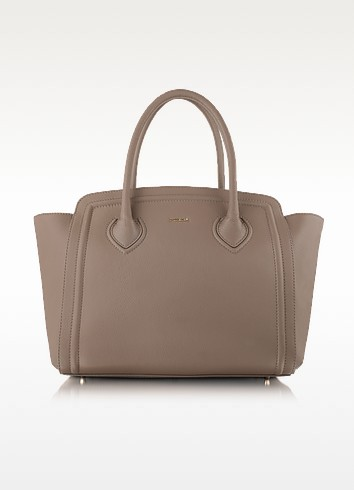 College Large Leather Tote - Furla