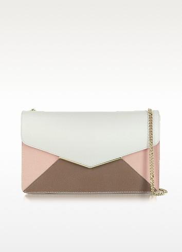 Cherie Medium Color Block Leather Envelope - Furla