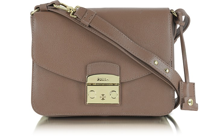 Metropolis Small Leather Shoulder Bag - Furla