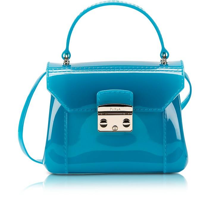 Candy Turquoise Bon Bon Mini Crossbody  - Furla