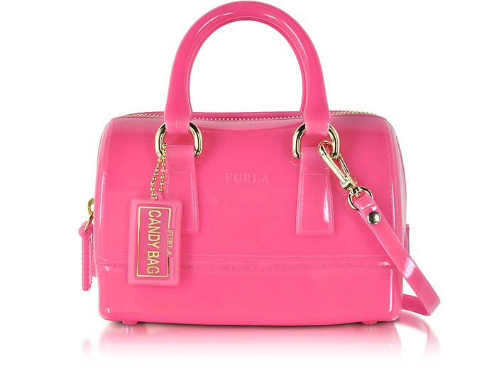Candy Jelly Rubber Mini Satchel - Furla