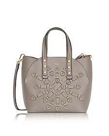 Sabbia Leather Aurora Small Tote Bag - Furla