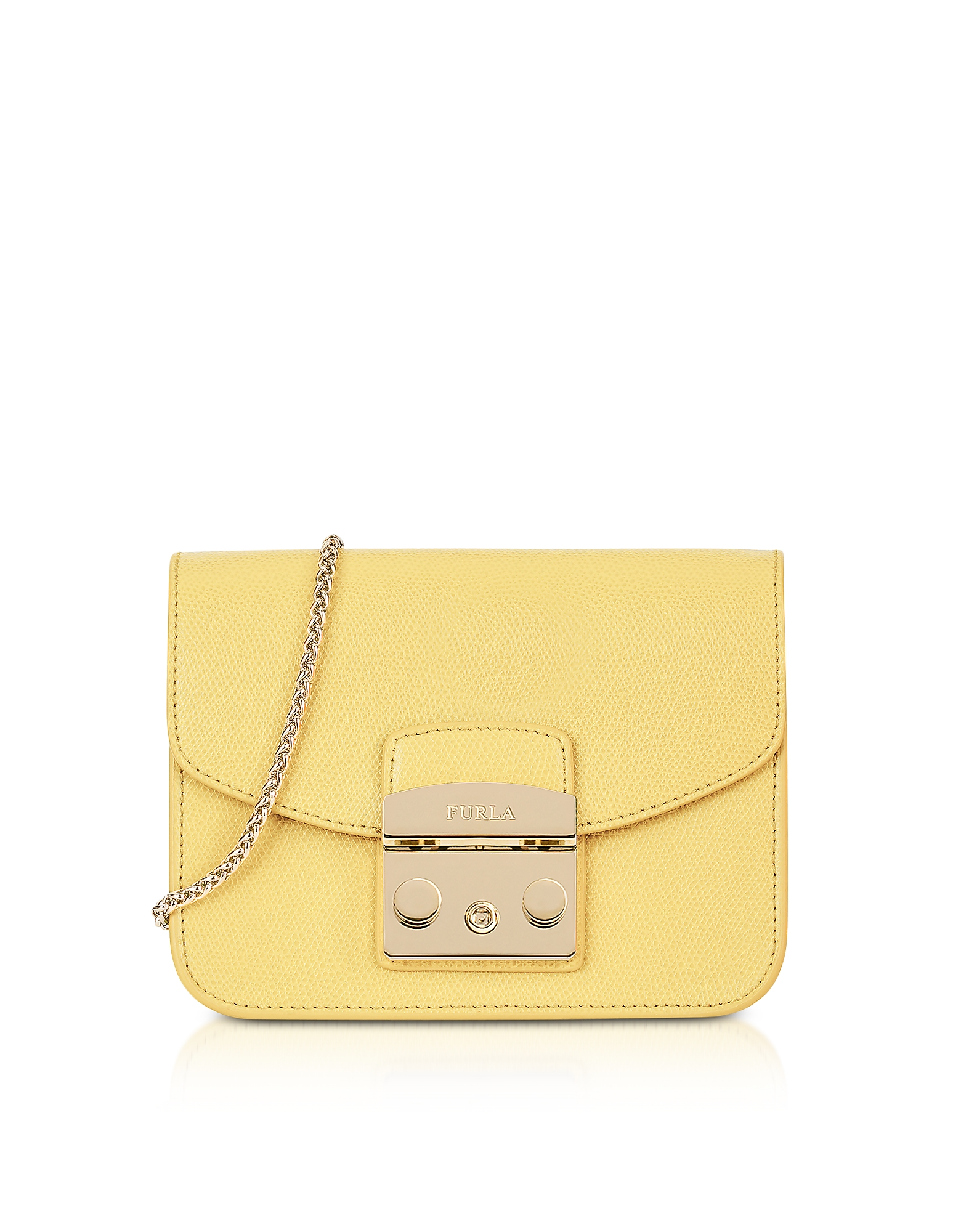 Furla Handbags, Cedar Leather Metropolis Mini Crossbody Bag