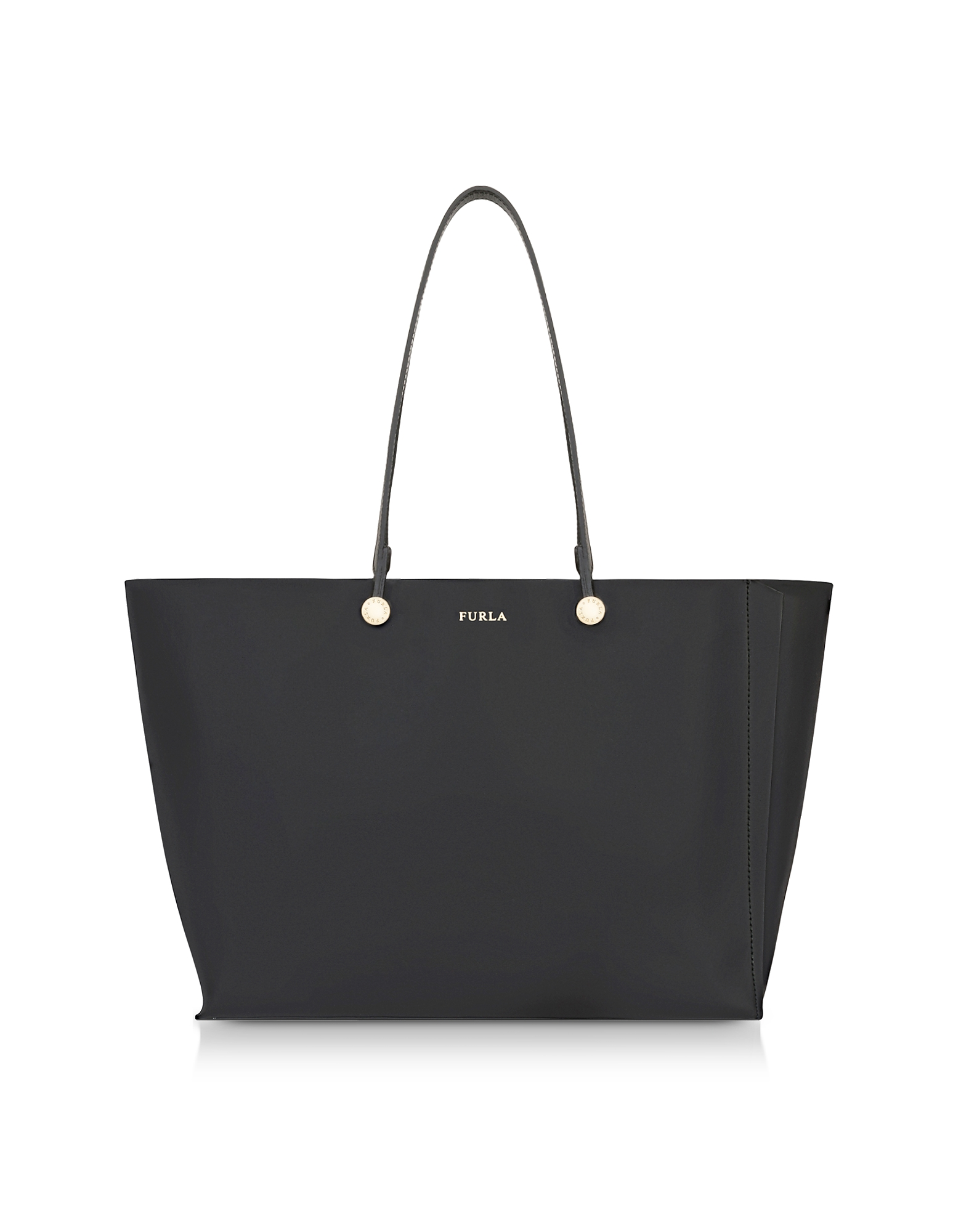 Furla Handbags, Onyx and Toni Vaniglia Turtle Printed Leather Eden Medium Tote Bag