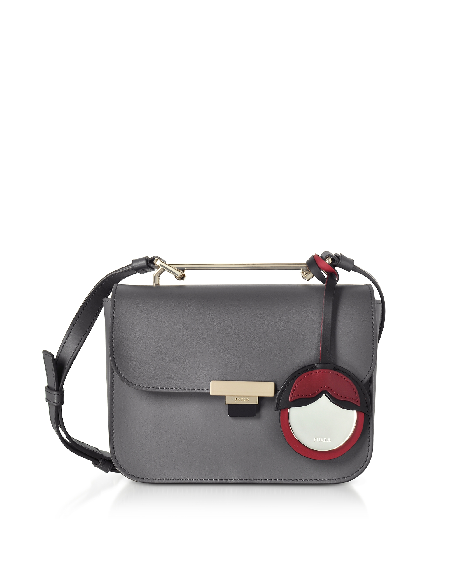 Furla Handbags, Mercury Leather Elisir Mini Crossbody Bag