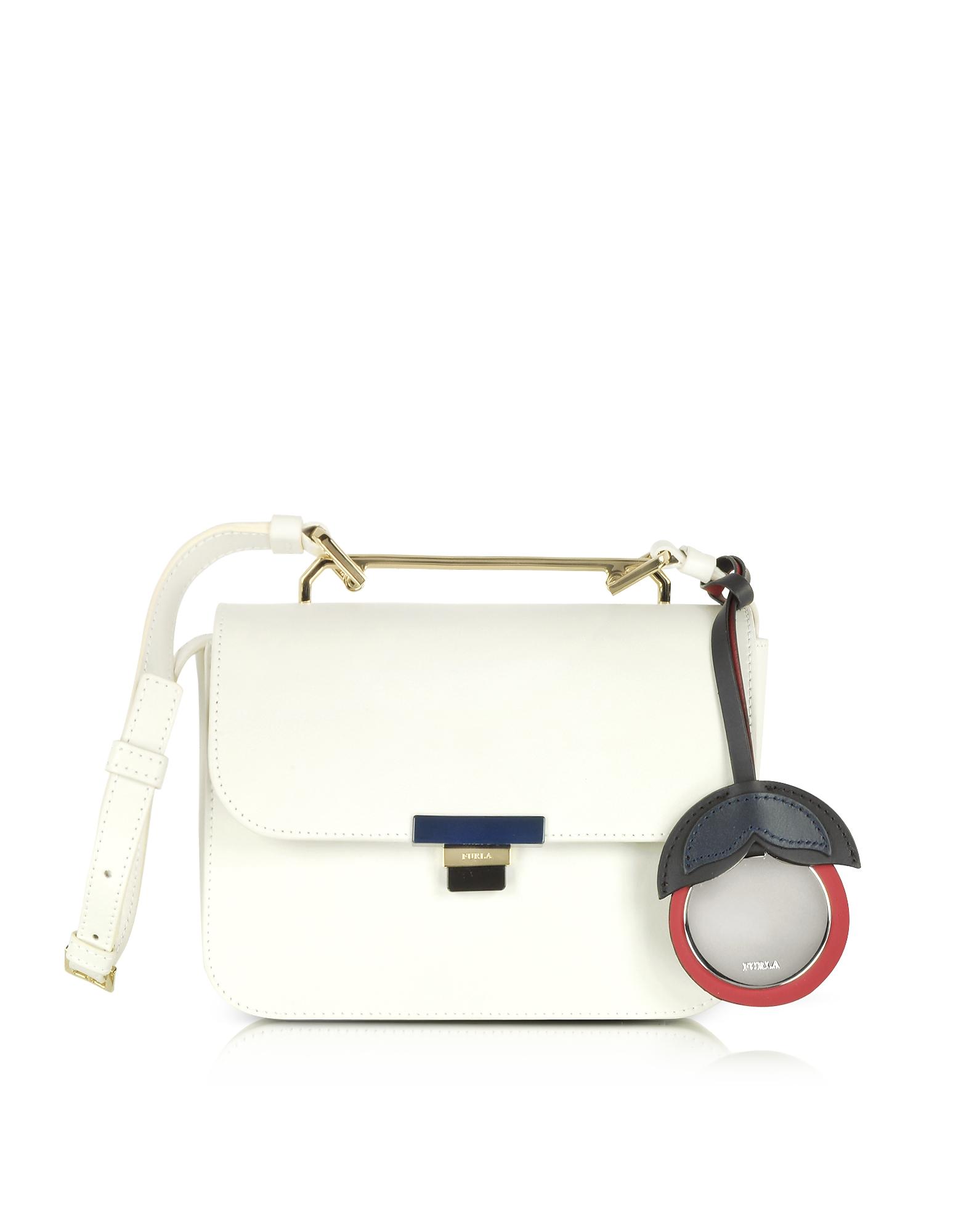 Furla Handbags, Petalo Leather Elisir Mini Crossbody Bag
