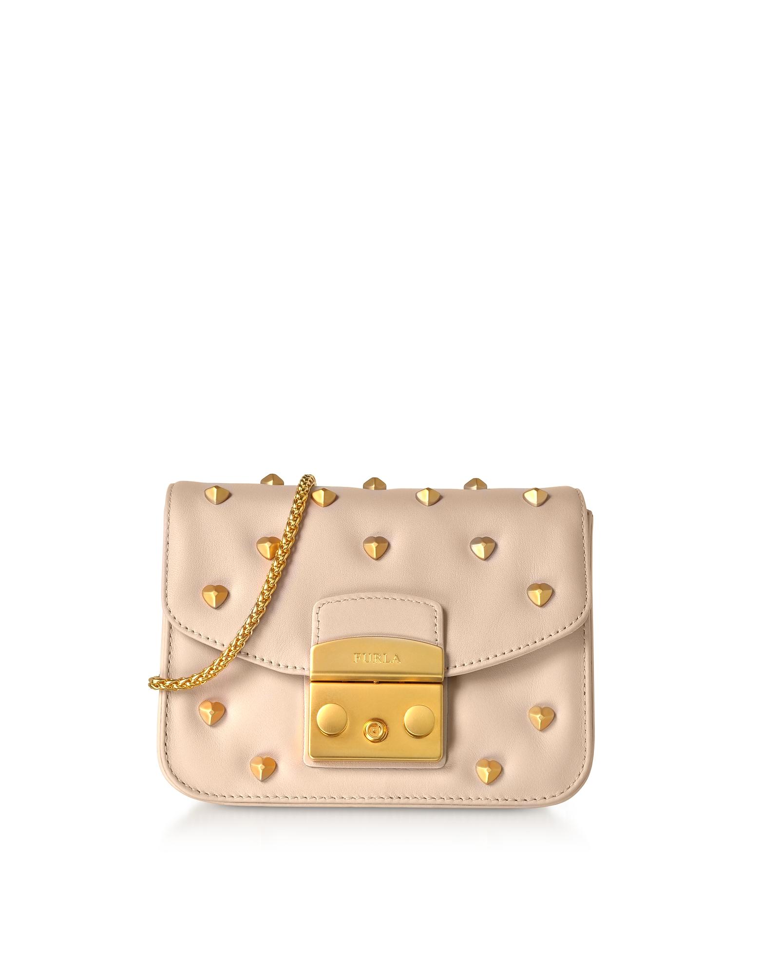 Furla Handbags, Metropolis Amoris Mini Crossbody Bag
