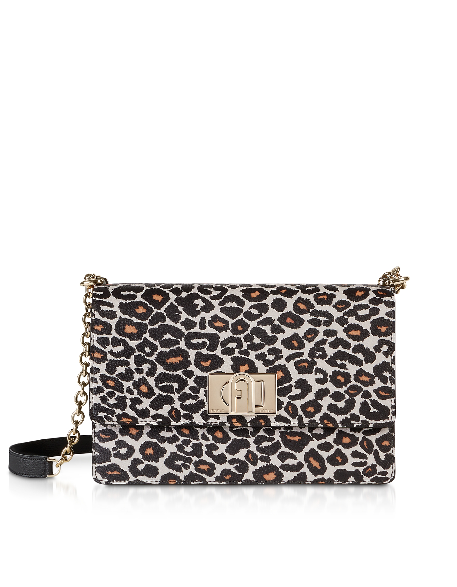 Furla Designer Handbags, Animal Printed Leather 1927 S Crossbody Bag 24