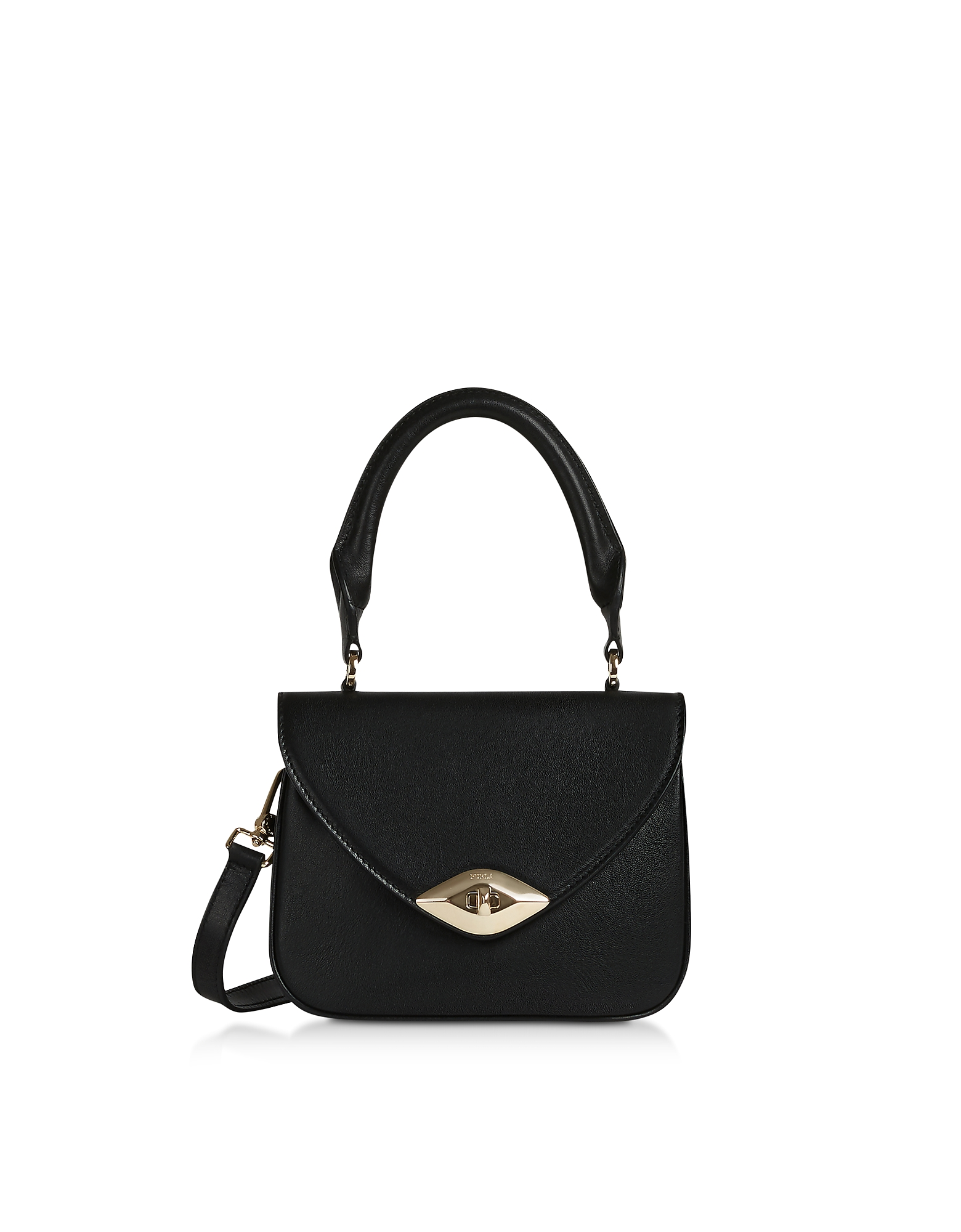Furla Designer Handbags, Eye Mini Top Handle bag