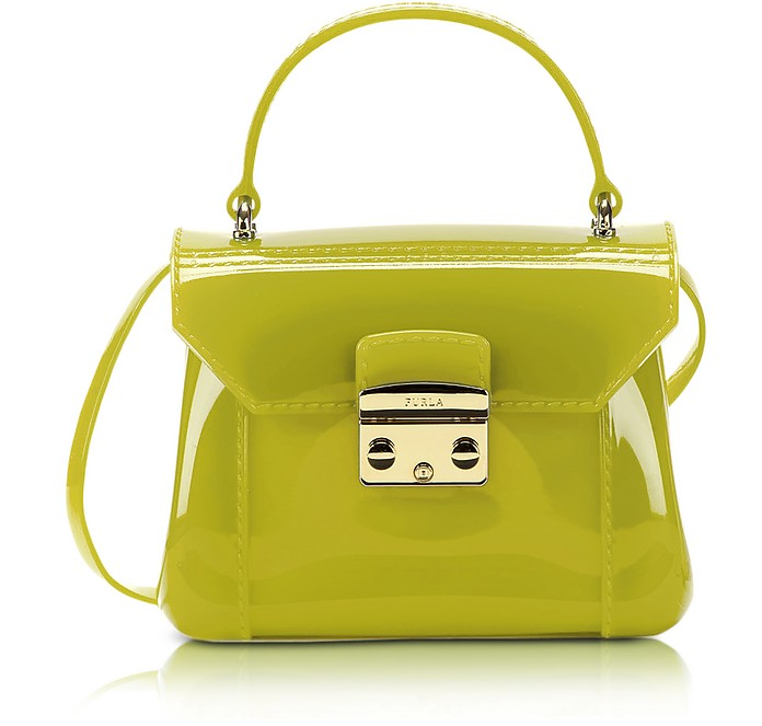 Jade Candy Bon Bon Mini Crossbody  - Furla