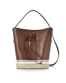 Vittoria S Glace Drawstring Bucket Bag - Furla