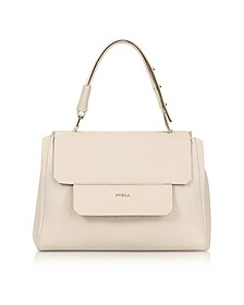 Acero Leather Capriccio Medium Top Handle Bag - Furla