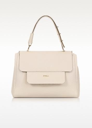 Acero Leather Capriccio Medium Top Handle Bag - Furla