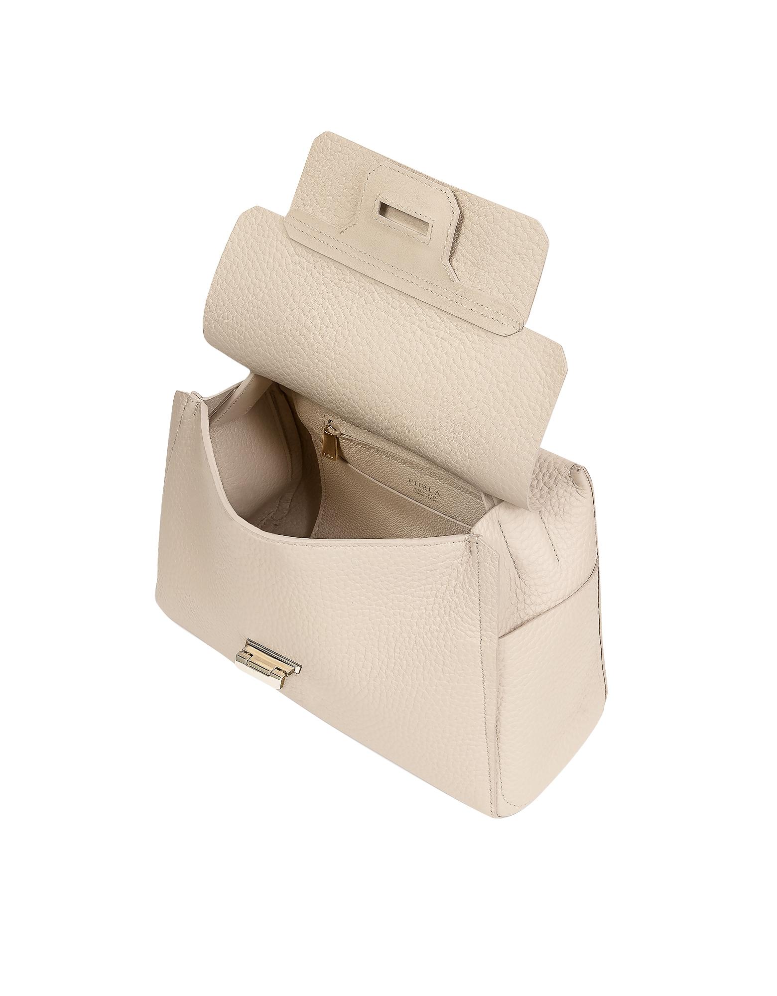 Acero Leather Capriccio Medium Top Handle Bag от Forzieri.com INT
