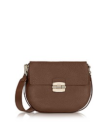 Club S Glace Pebble Leather Crossbody Bag - Furla
