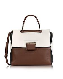 Glace, Petalo & Onyx Artesia Medium Top Handle Bag - Furla