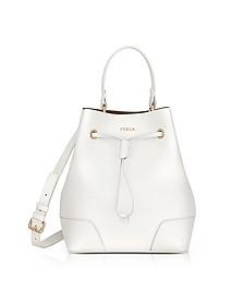 Petalo Leather Stacy Small Bucket Bag - Furla