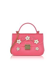Candy Lilla Rose Jelly Rubber Mini Bag - Furla