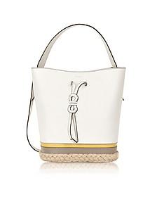 Vittoria S Petalo Drawstring Bucket Bag - Furla
