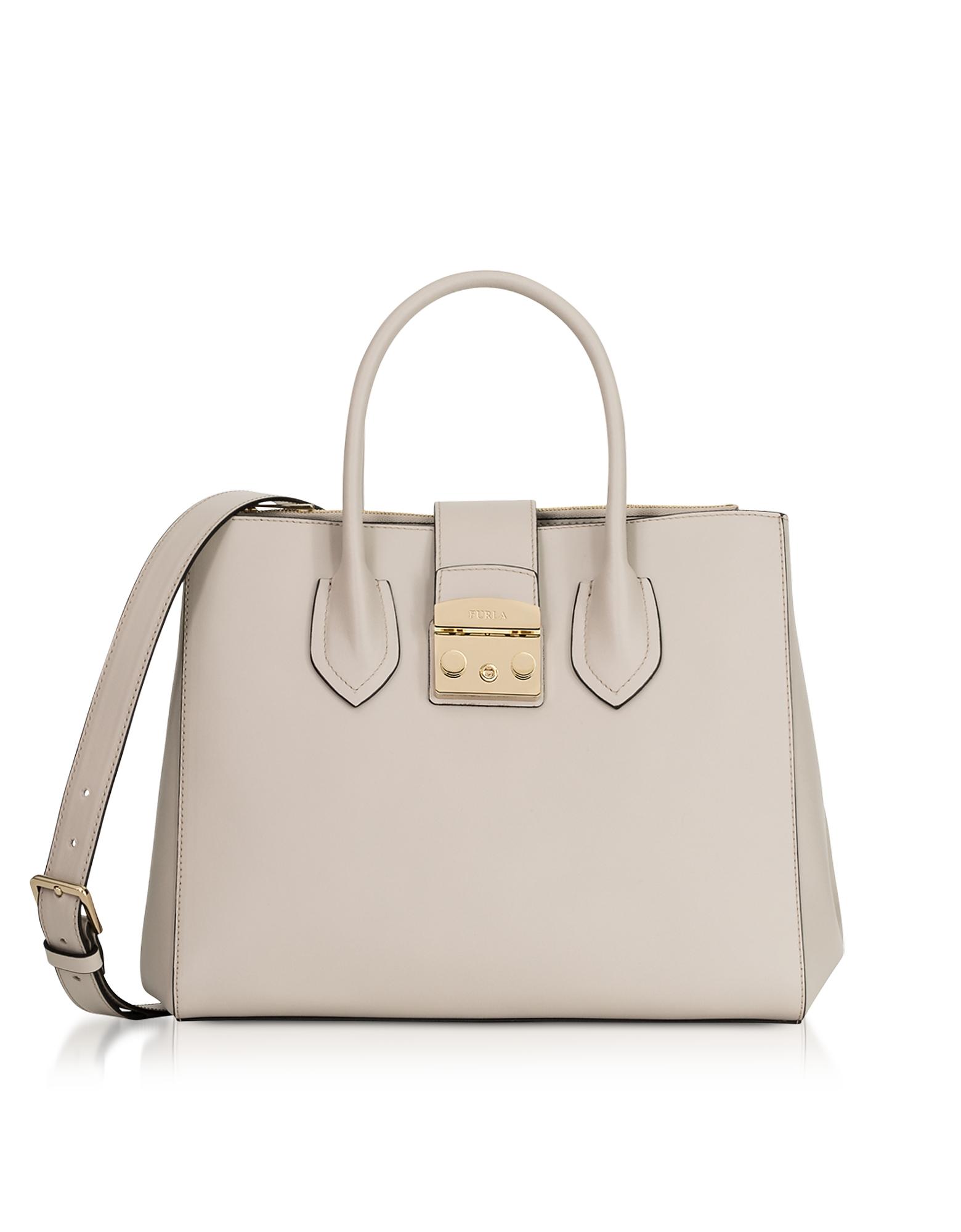 Furla Handbags, Vaniglia Metropolis M Tote Bag