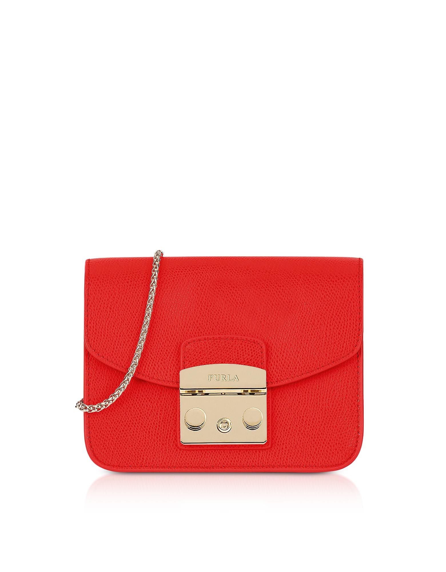 Furla Handbags, Metropolis Mini Crossbody Bag w/Chain Strap
