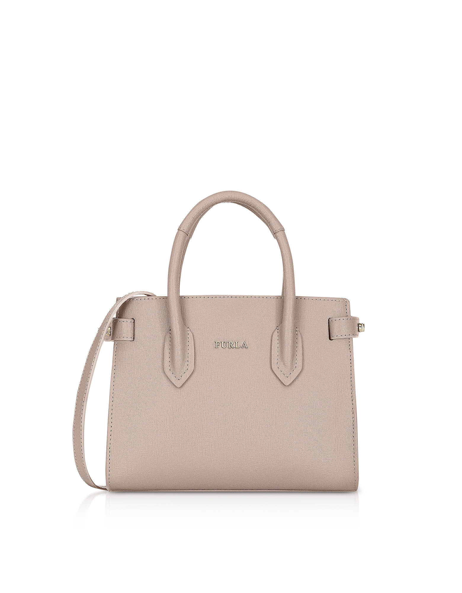 Furla Handbags, Saffiano Leather Pin Mini Tote Bag