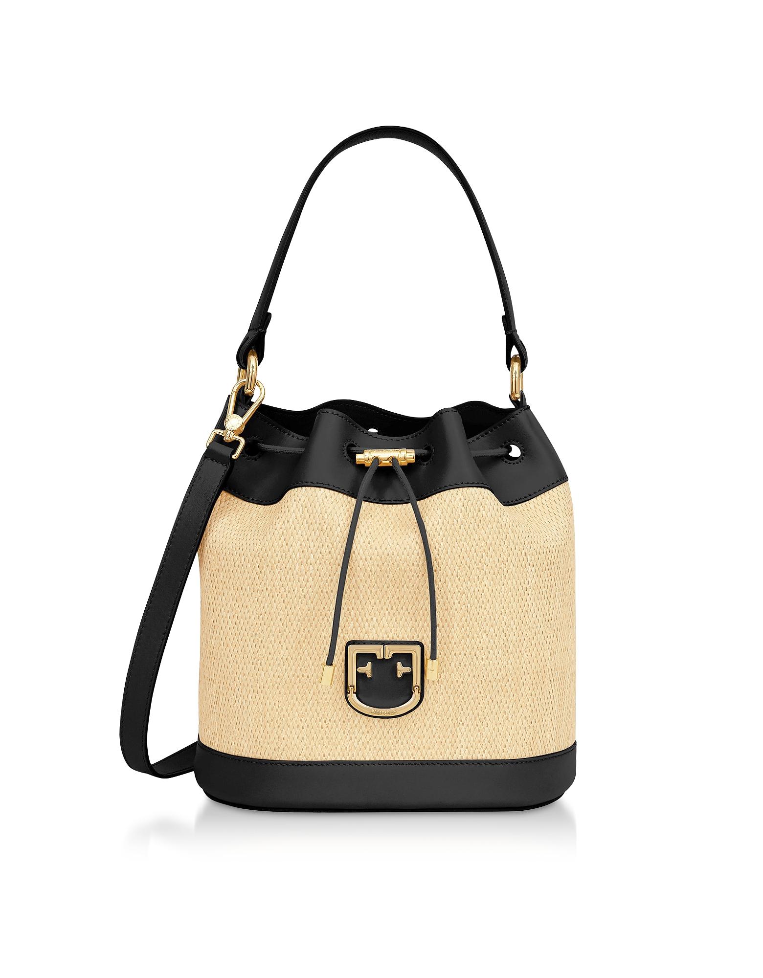 Corona S Drawstring Bucket Bag