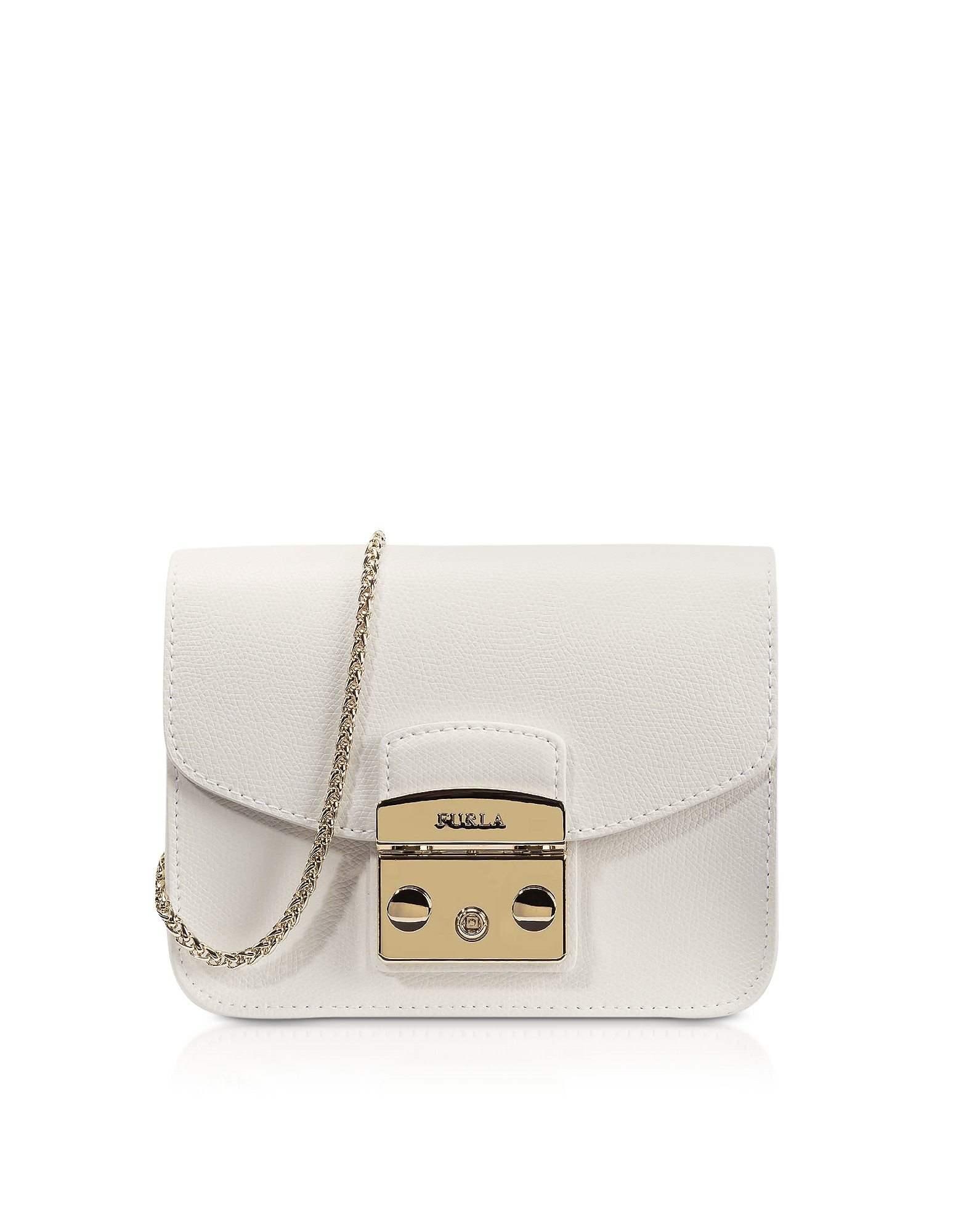 Furla Handbags, Metropolis Petalo Leather Mini Crossbody Bag