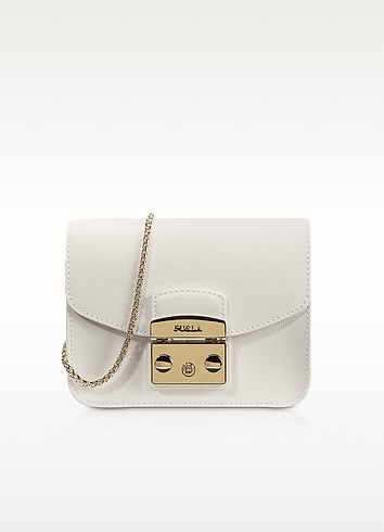 Metropolis Petalo Leather Mini Crossbody Bag - Furla